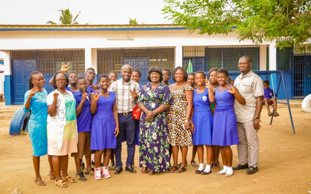 State School For The Deaf at Adjei Kojo in Ashaiman